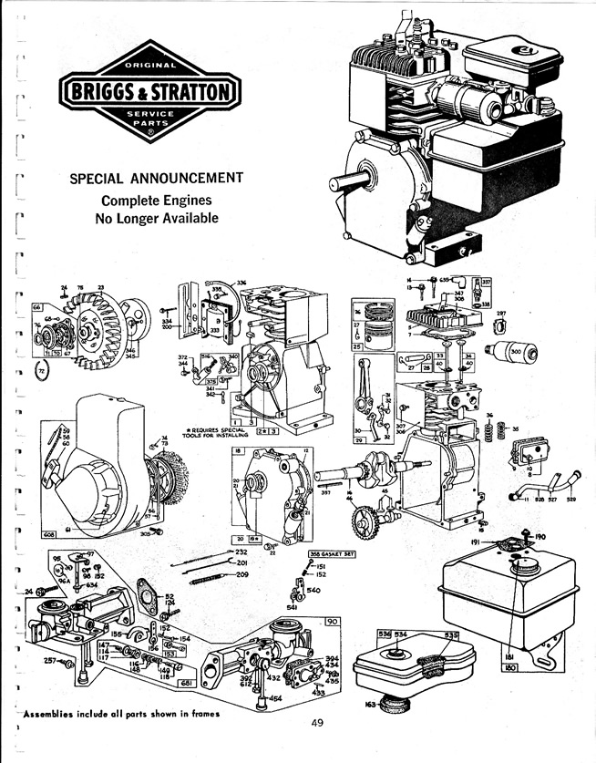 briggs and stratton vanguard 18 hp diagram  briggs  free